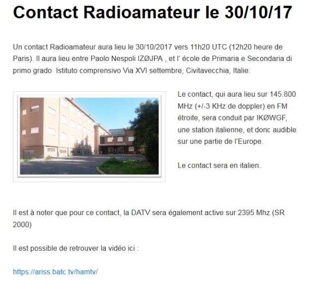 contact radio